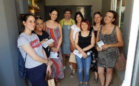 Στιγμές φροντίδας και περιποίησης από την SamanDust σε επίσκεψη του ΙΕΚ ΑΡΙΔΑΙΑΣ